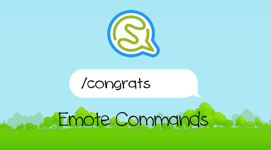 Socio emote commands list