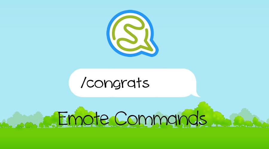 Socio emote commands list